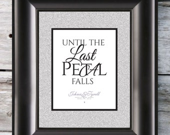 Until The Last Petal Falls Print