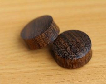 "28mm Plugs, 9/8"" Wooden Plugs Gauges, Organic Ear Plugs Big Saddle Plugs 28mm Gauges Wood Plugs OPW0228"