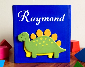 Blue shape sorting toy baby toy personalized shape sorting cube dinosaur for baby boys first birthday gift eco friendly baby toys shapes