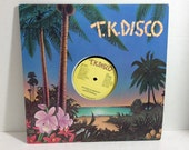Gregg Diamond vintage vinyl record - This Side Of Midnight Single 45 rpm || 70's Disco