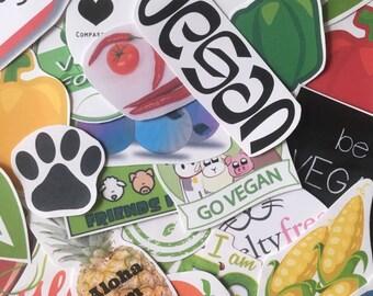 Vegan Sticker Pack (7)