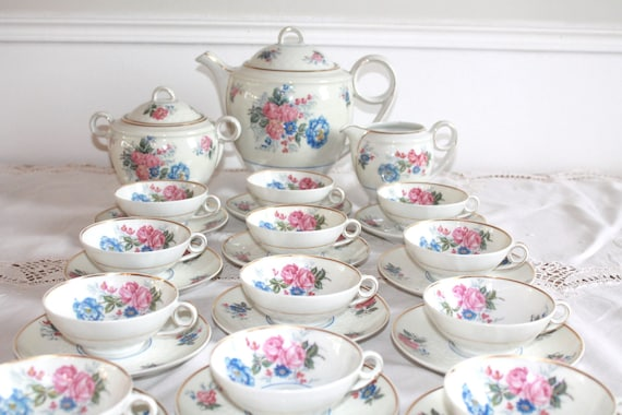Limoges Tea Set 1930