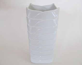 Thomas Germany/Rosenthal White Porcelain Vase