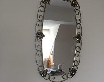 Retro Metal Mirror