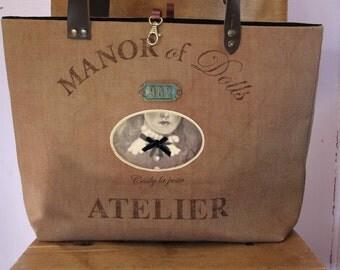 """Vintage """"The col de Cecily"""" tote bag"""