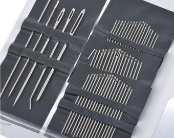 Set of 55 Stainless steel Hand Sewing Quilting Needles (DIY-HN03)