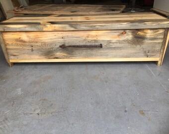 Reclaimed Shoe Bench