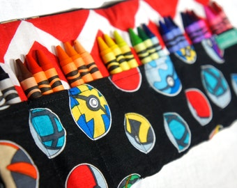 Pokemon Gift,Crayon Roll,  Easter Boy Gift, Travel Roll