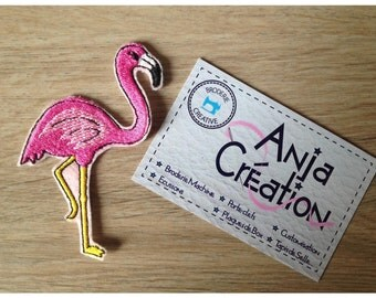 Crest patch apply coconut The Flamingo