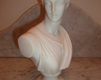 Greek Neo Classical bust of APTEMIS – circa 1940