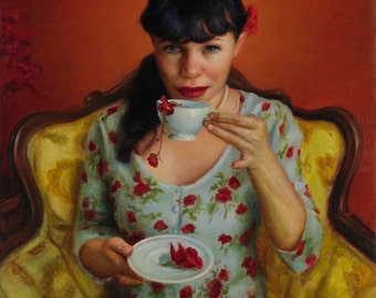 Summer's Ambrosia - Limited Edition Giclee Print