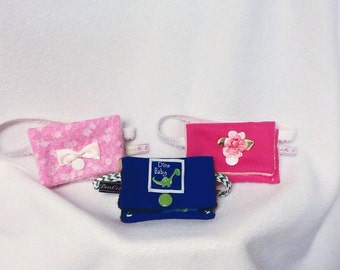 Insulin pump pouch for your American girl doll , Itty bitty or  favorite stuffie
