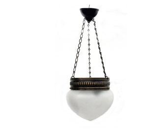 Antique hanging lamp chandelier