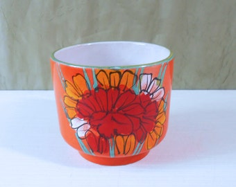 Mod Flower Power Planter / Flower Pot from Italy
