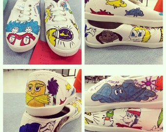 Dr Seuss Shoes