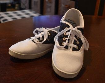 Faux Saddle Shoes