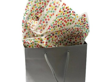 Confetti Tissue Paper and Gift Bag