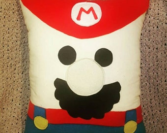 Mario Bros or Luigi Pillow