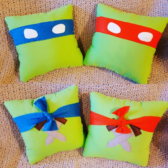 Ninja Turtles Pillow