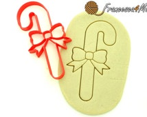 Candy Cane Cookie Cutter/Multi-Size