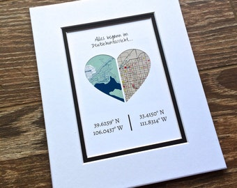 Custom Quote Longitude and Latitude -Gift For Best Friends- Long Distance Friendship Relationship Gift- Moving Away or Going Away Present
