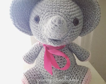 Sweet Little Amigurumi Elephant | Made to Order
