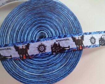 Supernatural 1 inch 1 yard grosgrain ribbon US SELLER