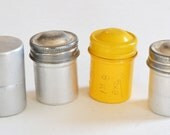 Vintage Film Cans / Canisters / Containers x4