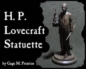 H.P. Lovecraft Statuette