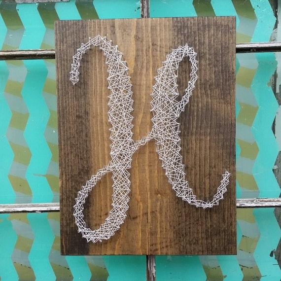 Wedding Gift String Art : ... Gift, Nail Art Letter, Wedding Gift Sign, Custom Made Wood Sign, 3D