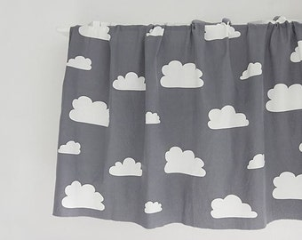 Cloud Pattern Washed Cotton Wide Width Fabric by Yard (82861)