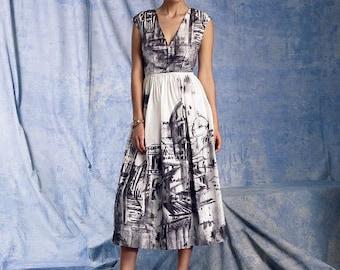 Vogue Sewing Pattern V1402 Misses' Dress