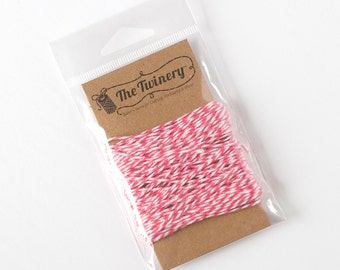 The Twinery Twine - Strawberry Pink
