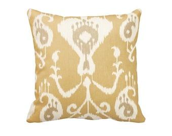7 Sizes Available: Khaki Decorative Throw Pillow Cover Khaki Pillow Accent Pillow 12x16 17x17 20x20 22x22 24x24 Inches
