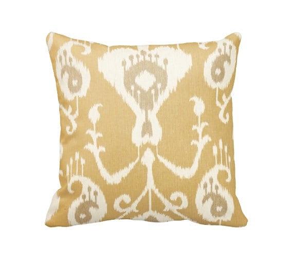 Throw Pillow Sizes : 7 Sizes Available: Khaki Decorative Throw Pillow Cover Khaki