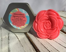 Relaxing Lotion Bar: Handmade Lotion Bar, Beeswax Based, with Vitamin E, All Natural, Vanilla, Gift, Teacher Gift