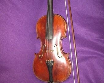 19th Mid-century Neuner & Hornsteiner Mittenwald 4/4 violin - Rich sound