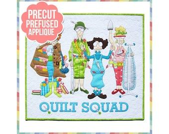 Quilt Squad - Laser Cut Pre Fused Applique Quilt Kit