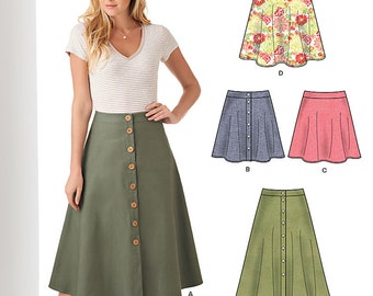 New Look Pattern 6346 Misses' skirts
