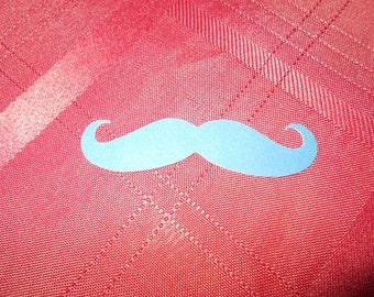 25 Moustache Cardstock Scrapbooking Cutout Embellishments!