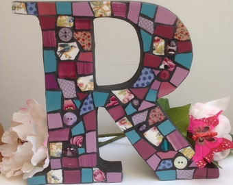 Large Mosaic Letter