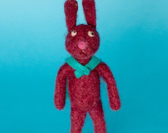 Needle Felted Sweet Rabbit