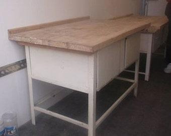 Eastern European hospital kitchen unit - vintage