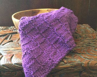 Purple Dish/Wash Cloth
