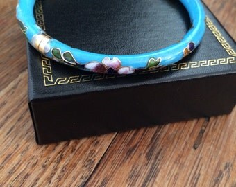 Vintage Cloissone Bangle Bracelet