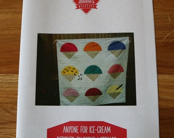 Anyone for ice-cream quilt pattern by Reene Witchard