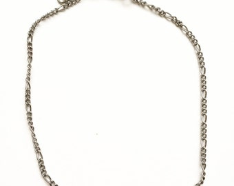 Baby Silver Figaro Choker Necklace    Harley Choker
