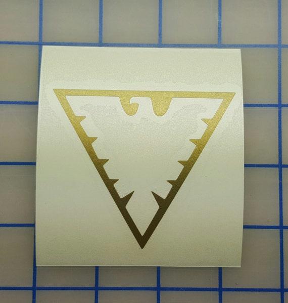 marvel xmen phoenix symbol outline decal 16 colors