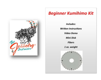 Kumihimo Kit & Instructions for Beginners