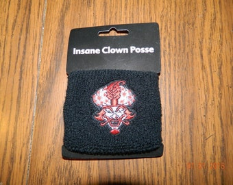 "New- OFFICIALLY LICENSED ICP ""The Great Milenko "" terrycloth wristband."